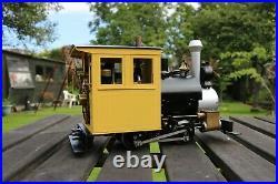 16mm Scale Bowande Porter USA Steam Locomotive Garden Railway Accucraft 45mm LGB
