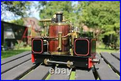 16mm Scale DeWinton Live Steam Locomotive Garden Railway Accucraft SM32 LGB