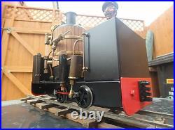 16mm scale RWM DeWinton live steam locomotive 32mm gauge