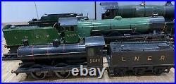 2.5 Gauge Scale Live Steam Locomotive 0-6-0 Class J Engine Working LNER Train