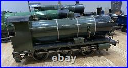 2.5 Gauge Scale Live Steam Locomotive Coal Fired 0-6-0 Working Engine Train