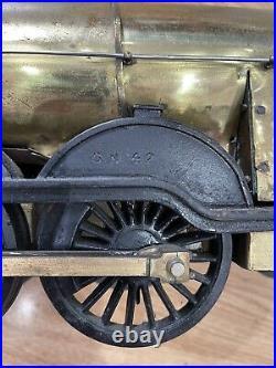 2.5 Scale Guage 3 Live Steam Locomotive Loco 4-4-2 Train Tender