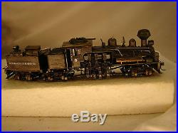 3 Truck Logging Steam Locomotive Shay -custom weathered, handcrafted HO scale