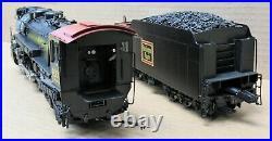 3rd Rail Brass #4000 CB&Q S-4 Hudson 4-6-4 Steam Engine O-Scale 3-Rail USED