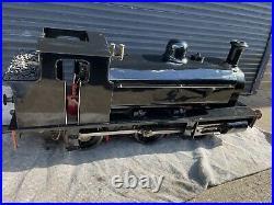 7 1/4 Live Steam Locomotive 7.25 Gauge Scale Coal Fired 0-6-0T Tank Engine