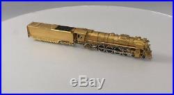AHM 403 HO Scale Brass Boston & Maine Class R1 4-8-2 Steam Locomotive & Tender