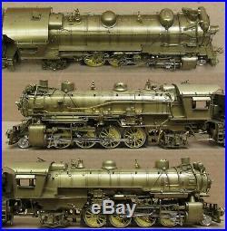 ALCO ROK-AM Southern Pacific MK-6 2-8-2 Steam Engine BRASS HO-Scale