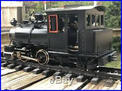 Accucraft / 120.3 Scale Unlettered (0-4-2) Plantation Locomotive (live Steam)