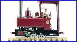 Accucraft Trains 7/8th Scale Decauville 0-4-0T Maroon, Live Steam
