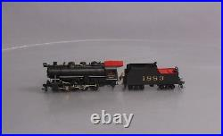 Akane HO Scale Brass U. S. R. A. 0-8-0 Steam Locomotive & Tender Painted withDCC