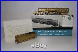 Akane Models Brass Ho Scale Dm&ir 2-8-8-4 Steam Locomotive & Tender, Boxed