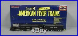 American Flyer 6-48082 S Scale Union Pacific 4-6-6-4 Challenger Steam Locomotive