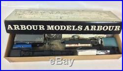 Arbour Models HO Scale Alleghenny Steam Engine and Tender