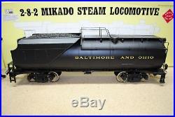 Aristo-Craft ART-21501 B&O 2-8-2 Mikado Steam Loco & Vanderbilt Tender G-Scale