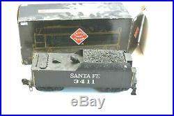 Aristo Craft Trains 21411 Santa Fe Pacific Steam Locomotive & Tender G Scale