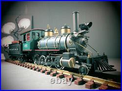 Aristo-craft G Scale 2-8-0 Locomotive #23 & Tender Et& Wnc Works