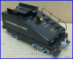 B&O/Baltimore & Ohio 0-4-0 Brass Steam Engine O-Scale 2-Rail CUSTOM MADE