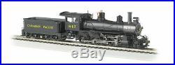 BACHMANN 52203 HO SCALE CP 847 Baldwin 4-6-0 Steam Loco & Tender DCC Ready