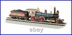 BACHMANN 52707 HO SCALE Union Pacific UP 119 4-4-0 Steam Coal Load DCC SOUND