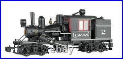 BACHMANN 85095 G SCALE Climax #2 Demonstrator Two-Truck Climax NEW