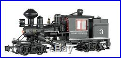 BACHMANN 85096 G SCALE Bayside Lumber Company #3 Two-Truck Climax NEW