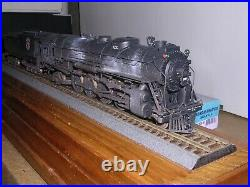 BRASS Tenshodo Great Northern 4-8-2 Steam Loco #2525 Weathered H. O. Scale 1/87
