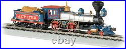 Bachmann 52702 HO Scale American 4-4-0'Jupiter' DCC Sound Value Central Pacific
