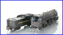 Bachmann Spectrum 2-6-6-2 USRA Articulated Steam Unlettered DCC withSound HO scale