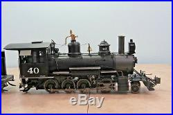 Bachmann Steam C-19 G-scale Rio Grande Southern #40 2-8-0 & Tender 83197
