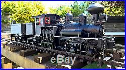 Bachmann g scale 3 Truck Shey Locomotive