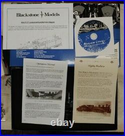 Blackstone Models B310126W-S, HOn3 Scale D&RGW K-27 2-8-2 Steam Locomotive #456