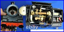 Bowande G scale 45mm live steam, gas fired BR 4MT Tank 2-6-4 Locomotive