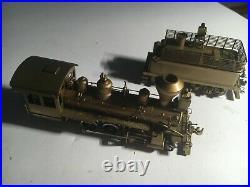 Brass HO Scale Train 2-6-2 Steam LOCOMOTIVE with Tender PFM SAMHONGSA