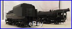 Car and Locomotive Shop C&O O Scale Brass 2-6-6-2 Steam Engine