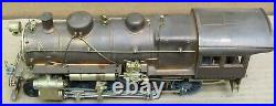 Central Locomotive Works H-10 2-8-0 BRASS Steam Engine O-Scale 2-Rail AS-IS