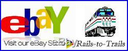 Con-cor N Scale Baltimore & Ohio Hudson Steam Locomotive & Passenger Set