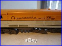 Custom Brass NJ Chesapeake & Ohio Steam Turbine Orion models HO Scale train