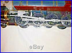 Delton 2-8-0 Denver & Rio Grande D&RG Steam Engine & Tender G Scale Locomotive