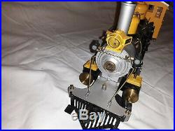 Delton Bumble Bee 2-8-0 Yellow G Scale D&RG Steam Locomotive & Tender Perfect