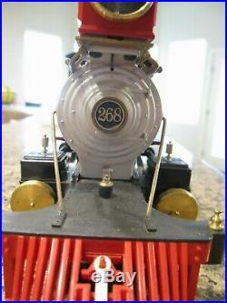 Delton G Scale 2-8-0 Denver & Rio Grande C-16 Steam Locomotive #268