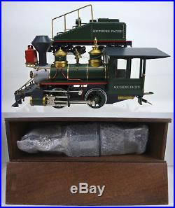 Delton G Scale Brass Southern Pacific 0-4-0 Steam Engine & Tender #7