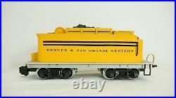 Delton G Scale D&RG Bumblebee C-16 2-8-0 Steam Engine & Tender with Smoke 2226B
