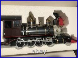 Delton Pennsylvania 1988 G Scale C-16 Steam Locomotive and Tender Engine