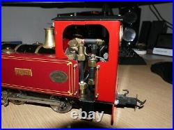 EARLY ROUNDHOUSE Live Steam G-scale 45mm 0-4-0 loco