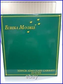 Eureka Models NSWGR AD60 Class GARRATT HO Scale #6028 Steam Engine (witho Sound)