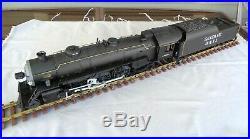 G Scale ART 21411 Aristocraft Santa Fe 4-6-2 Steam Locomotive & Long Tender