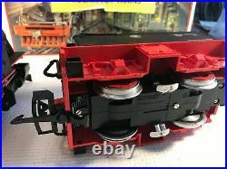G Scale Lgb 99201 Powered Steam Engine 992015 & Powered Tender-nice G203