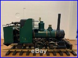 G scale Lima No. 104 Live Steam Locomotive rare item with no reserve