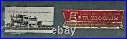 Gem Models (olympia) Eh-105 Reading Class 15c 2-8-0 Consolidation Ho Scale Bras