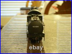 Genesis HO scale Southern Pacific MT4 4-8-2 Mountain Loco #4350 DCC/Sound